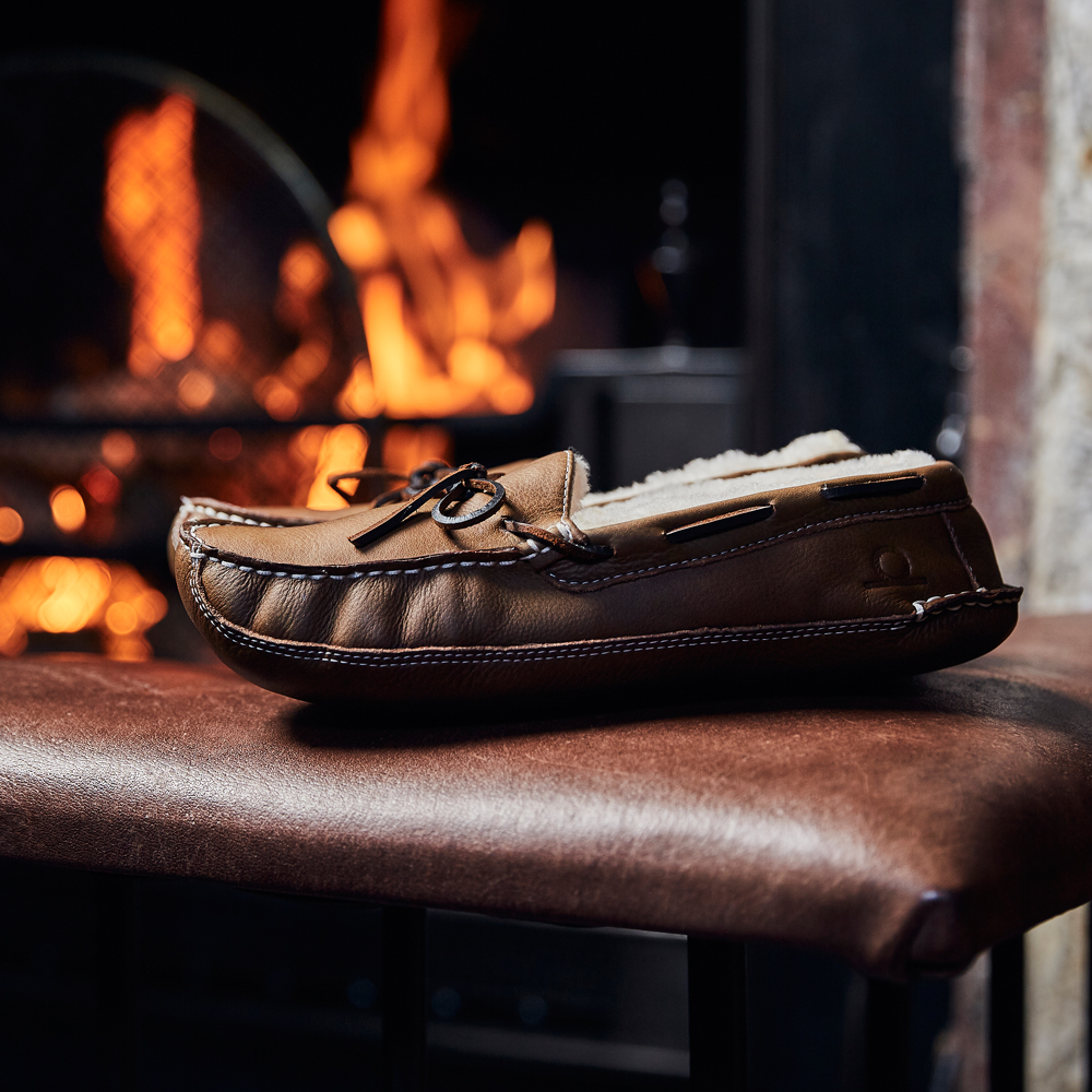 Harrison Moccasin Slippers