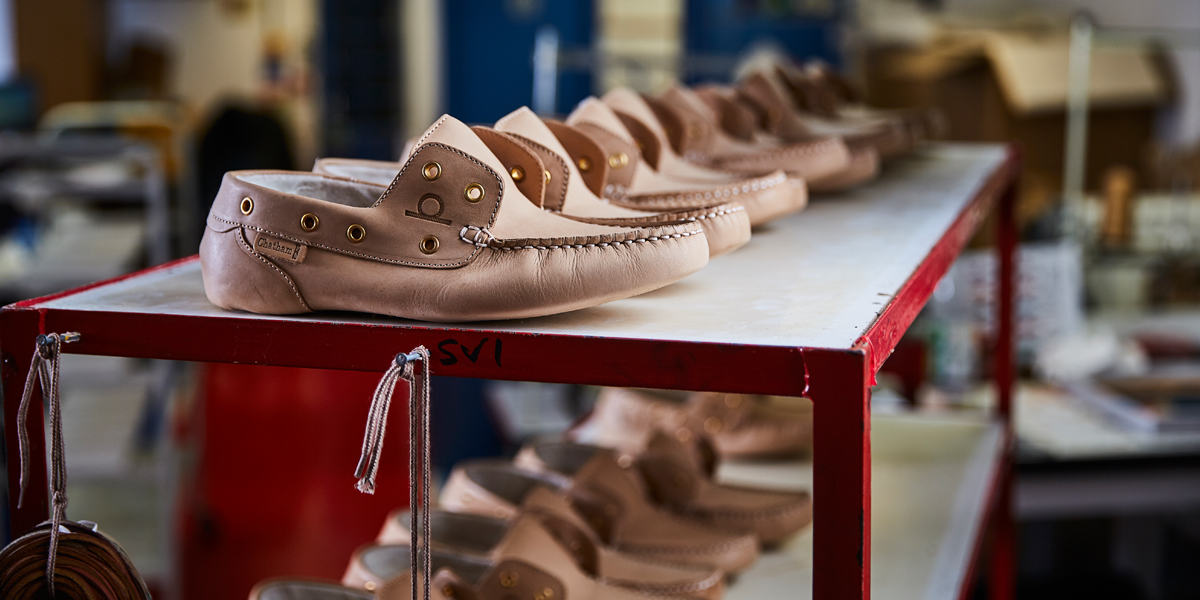 How We Manufacture Our Deck Shoes