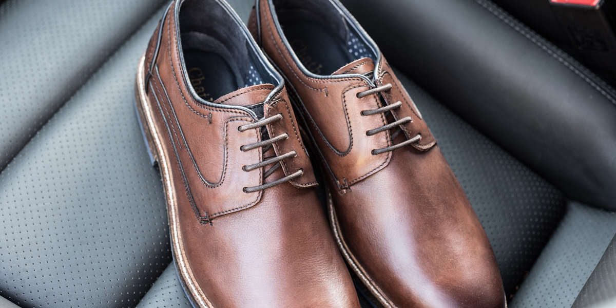 Rubin Leather Derby Shoes