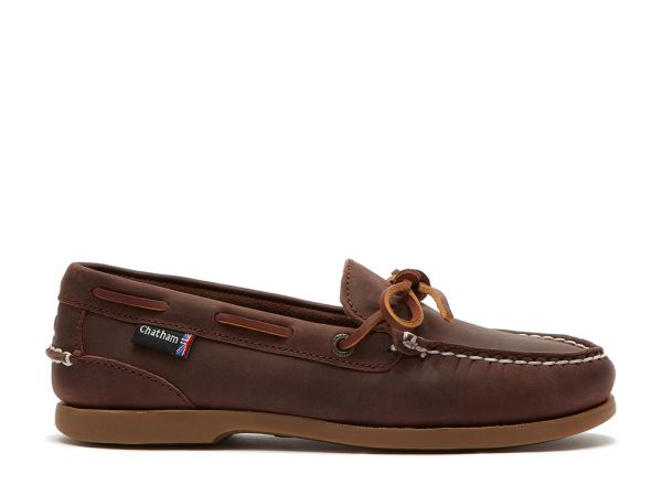 Olivia G2 - Premium Nubuck Slip-On Deck Shoes