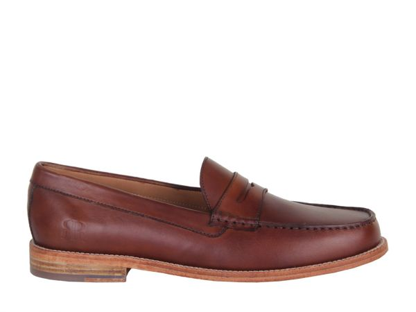 Damon - Made in Britain Leather Penny Loafer