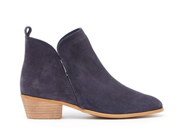 Elveden - Leather Zip Boots