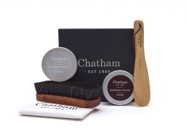 Leather Shoe Care Gift Box