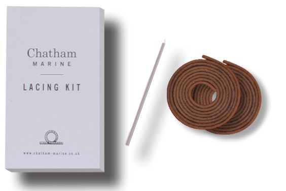 Brown Leather Lacing Kit