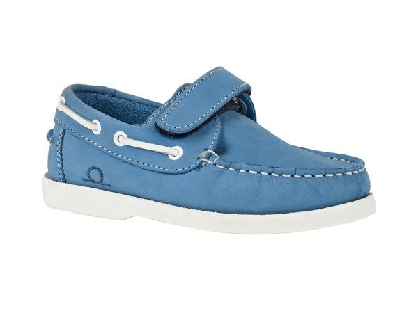 Oliver - Kids Velcro Boat Shoes