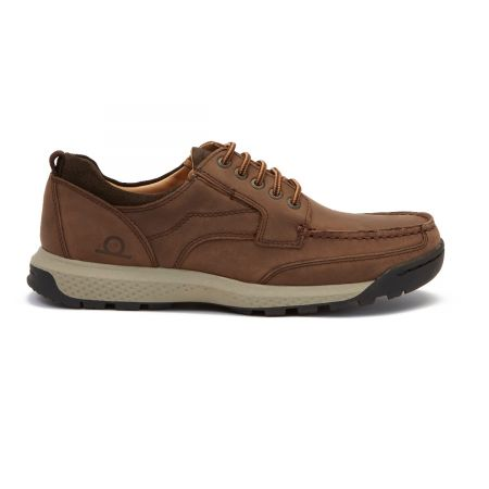 Potton - Leather Moccasin Lace-up Shoes