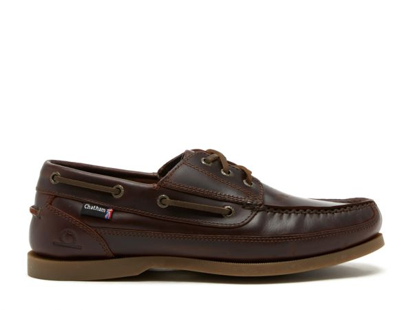 Rockwell II G2 - Leather Wide Fit Boat Shoes