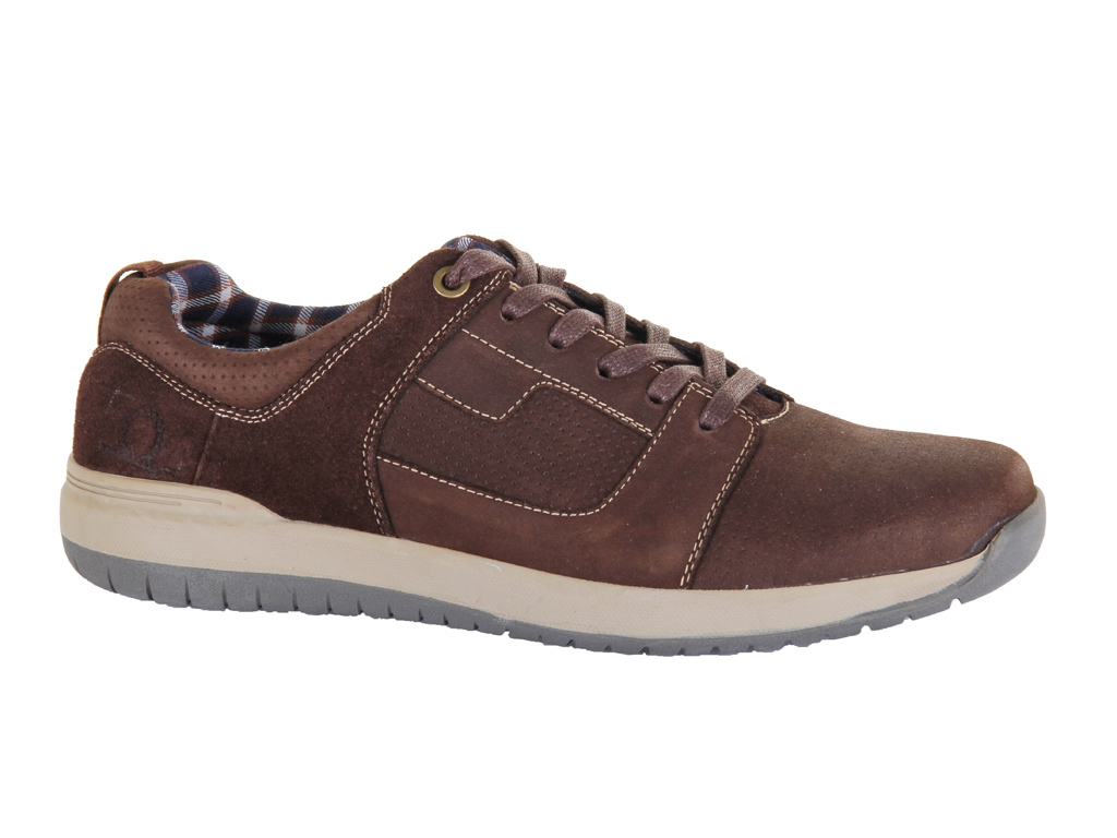 Chatham Robo Coffee Brown Sporty Casual Lace-up Shoes