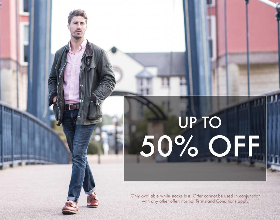 50% Men's Sale