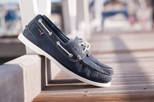 Chatham Men's Pacific II G2 Boat Shoes - Navy