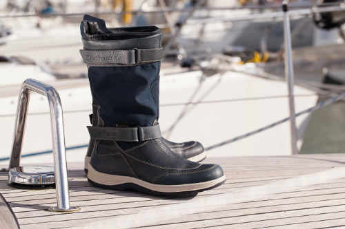 Chatham Men's Rig Waterproof Sailing Boots - Navy