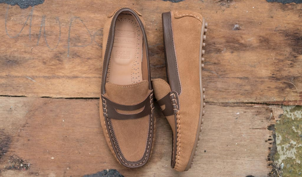 Toga Tan Suede Product Page